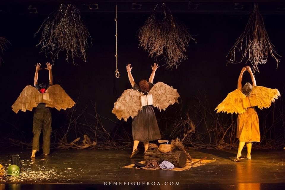 """""""Bandada de pájaros"""" de Jorgelina Cerritos se presenta en el Teatro Luis Poma del 25 al 28 de octubre."""